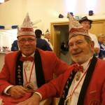 Der 1. Vorsitzende Andreas Wollersheim und Schatzmeister Leo Langner lassen es sich gut gehen