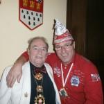 1. Vorsitzende unter sich: Hans Schiefer und Andreas Wollersheim